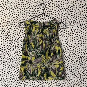 Dorothy Perkins Floral Neon Blouse